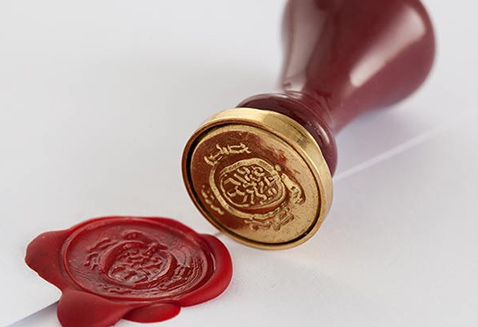 wax-seal stamp